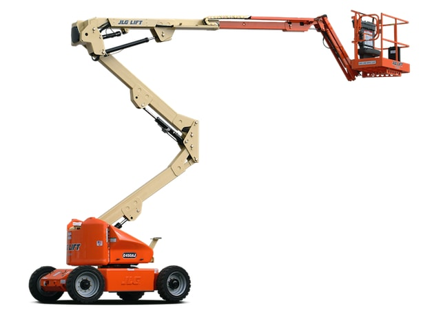 135 Ft. Articulating Boom Lift